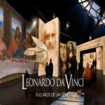 A exposição leonardo da vinci: 500 anos de um gênio