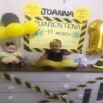 Bebê ganha festa com tema da quarentena em Teresina: 'você não está convidado'