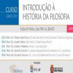Webinar Introdução à História da Filosofia – Extensão Universitária – Evento Online