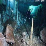 Mina de 12 mil anos é descoberta em cavernas subaquáticas no México