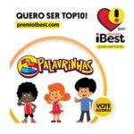 3 Palavrinhas concorre a melhor projeto infantil no Prêmio iBest 2021