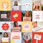 Celebridades participam de protesto digital em prol da dignidade menstrual